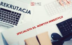 REKRUTACJA - spec ds. nowych inwestycji